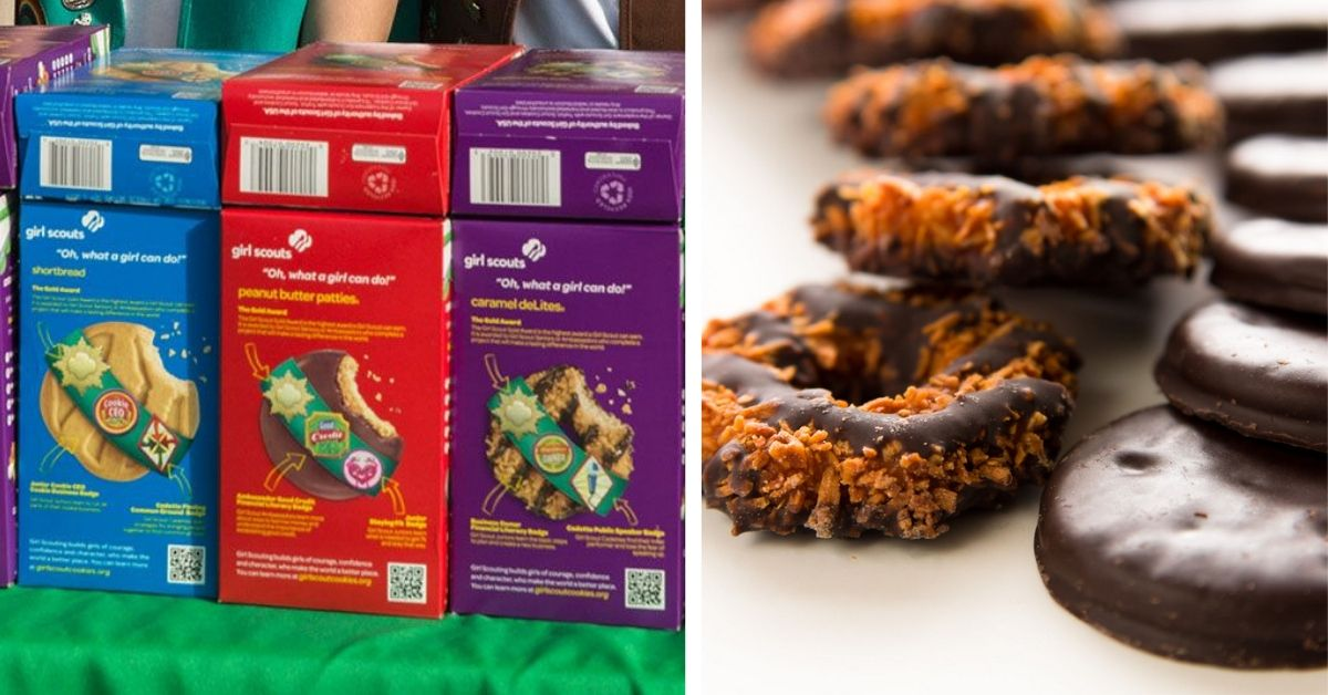 Girl Scout Cookies Are Back And There's A Brand New Flavor