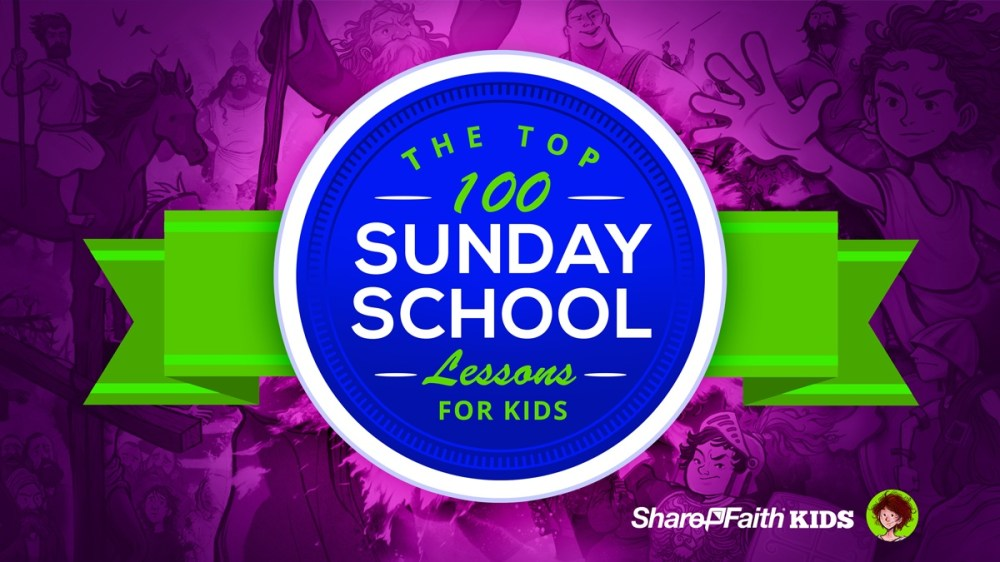 medium resolution of Top 100 Sunday School Lessons for Kids Ministry \u0026 VBS