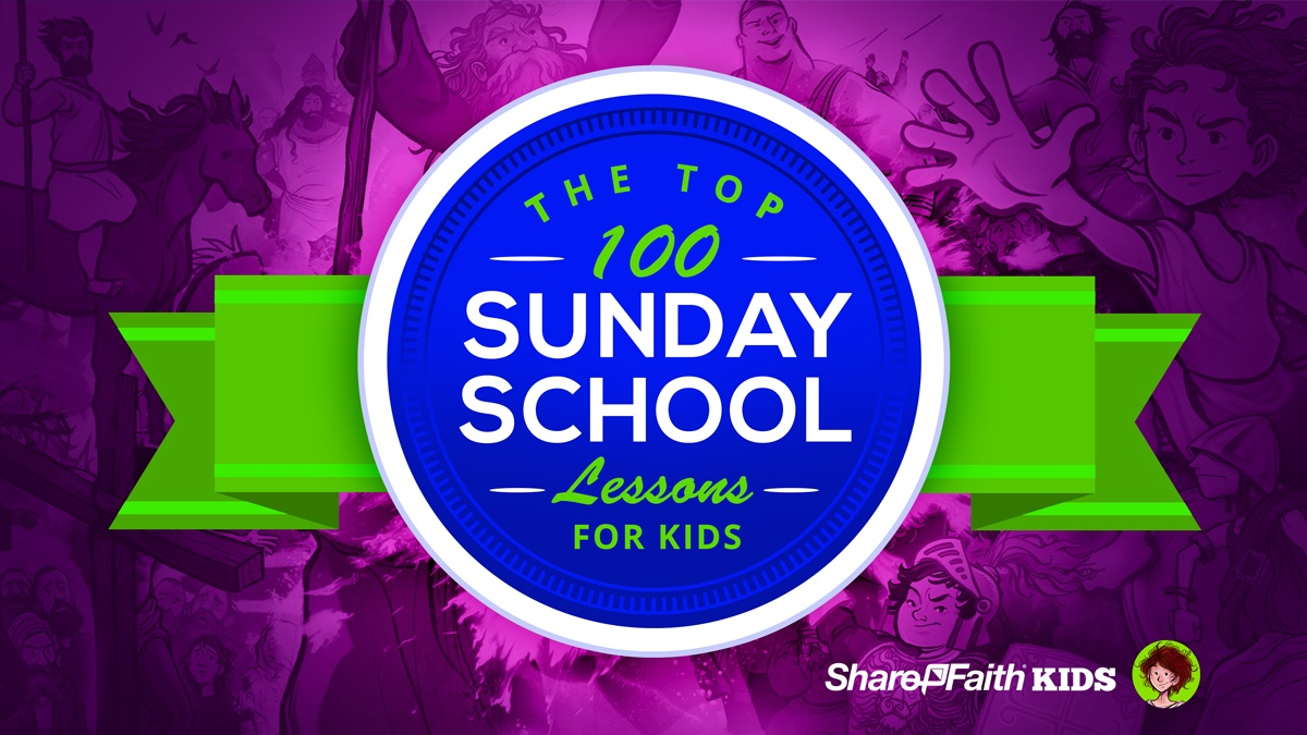 hight resolution of Top 100 Sunday School Lessons for Kids Ministry \u0026 VBS