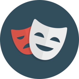 Image result for DRAMA icon