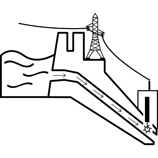 outline, technology, symbol, Power Plant, power, ecology
