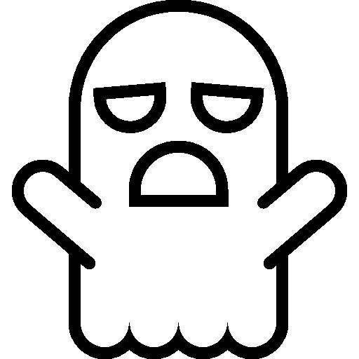 halloween, phantom, Ghost, scare, shape, outline, shapes