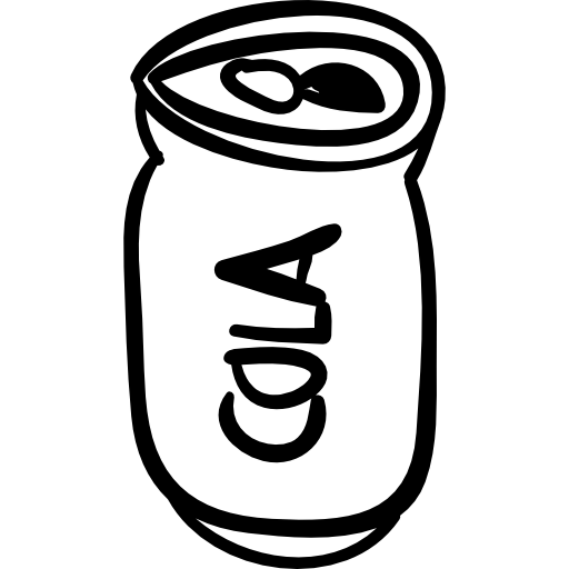 Can, tin, cola, drink, coke, food icon