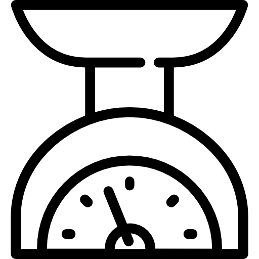 kitchen, weigh, weight, scale, technology icon