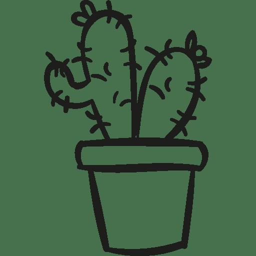 dry, plant, pot, Cactus, nature, Desert icon