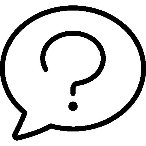speech bubble, button, question, signs, help, Faq
