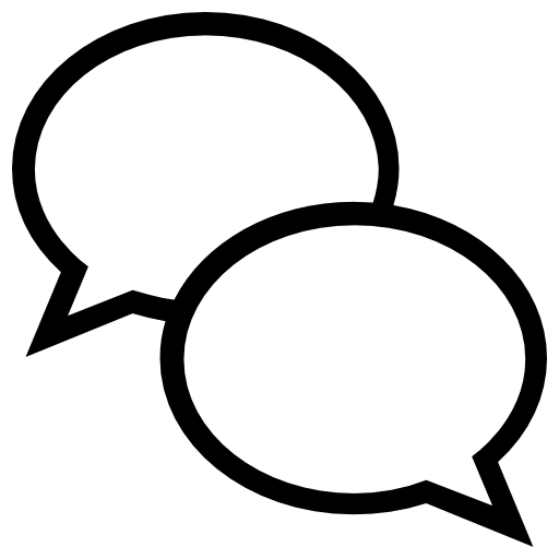 speech bubbles, chat bubble, interface, Chat Balloon
