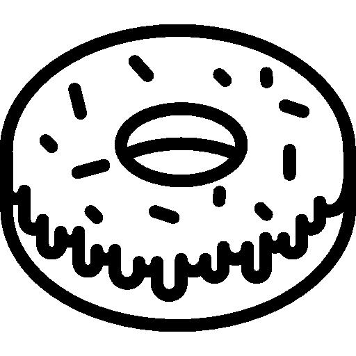 doughnut, food, Dessert, sweet, sugar icon