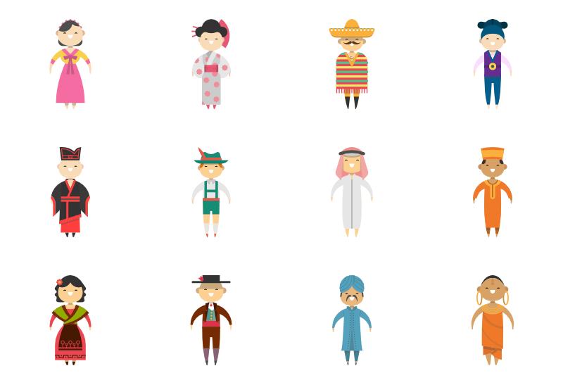 People Around The World Icon