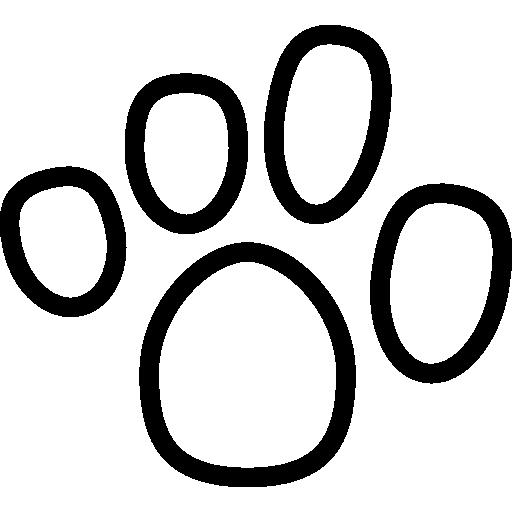 Print, Cat, Footprint, dog, Animals, Pawprint icon