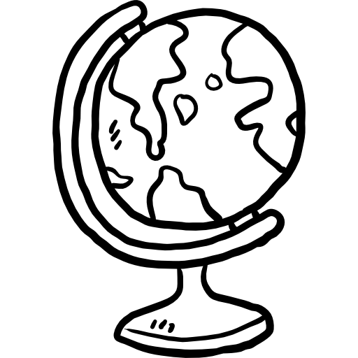 Planet Earth, Earth Globe, Earth Grid, Maps And Location