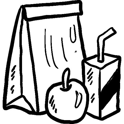 food, Lunch, Bag, dinner, meal, Fast food, paper bag
