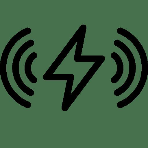 Apple, wireless, charging icon