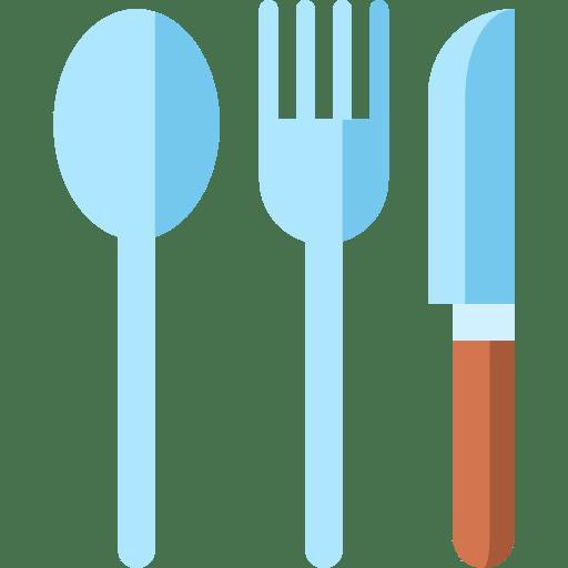 Fork Knife Restaurant Spoon Kitchen Pack Icon
