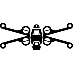 fighter rebel x-wing icon