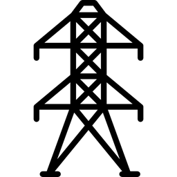 electricity, Power Line, Energy, tower icon