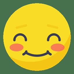 Face smiley smile Avatar blush shy blushing icon