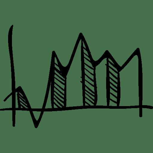 Stats, Sketch, graphic, statistics, hand drawn, Business
