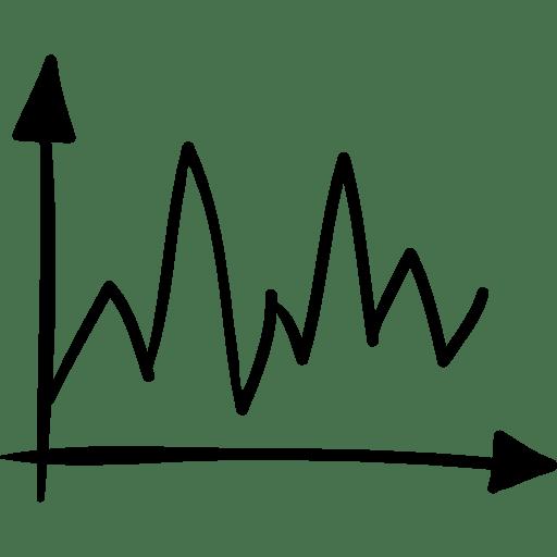 Business, line, graph, statistics, Sketch, graphic
