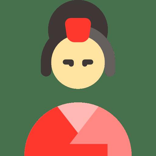 Indian Flag Animation Wallpaper Japan Geisha People Woman Japanese Icon