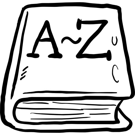 Book, Library, education, dictionary, learning icon