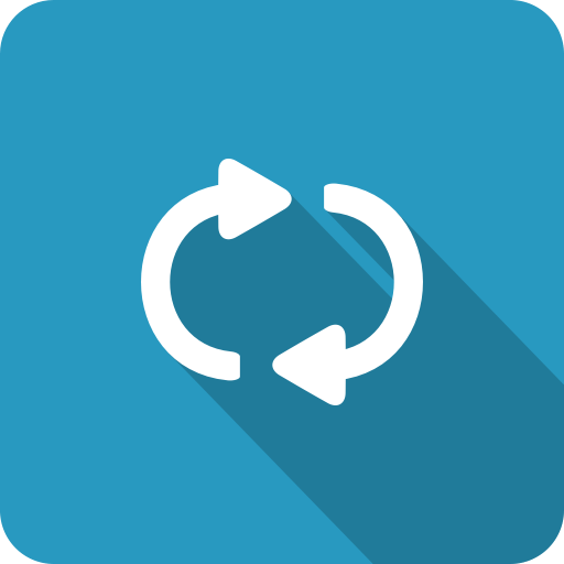 Cute Medical Wallpaper Blue Refresh Shadow Repeat Loop Continuous Icon