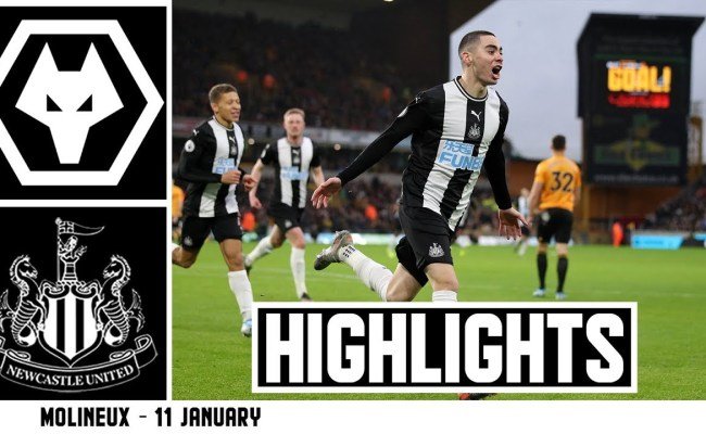 Wolves 1 Newcastle United 1 Brief Highlights