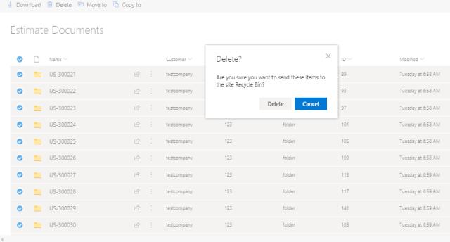 SharePoint Online : Delete Folders using PnP PowerShell