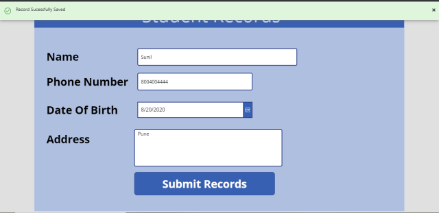 How To Save Records In Multiple List Using Power Apps Patch() function