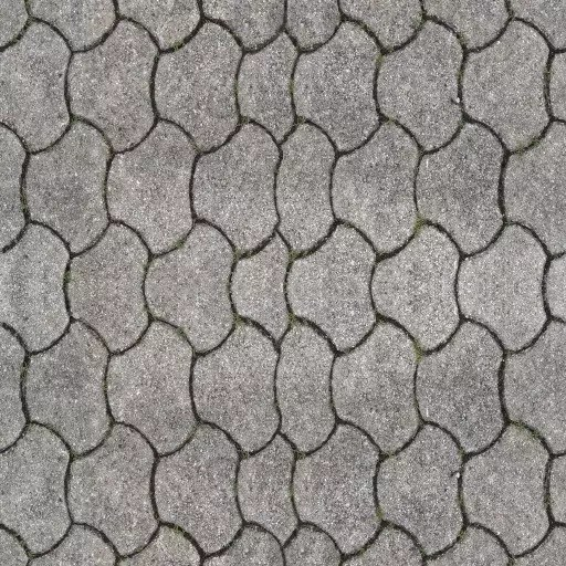 PBR road 3 diffuse - road, paving-streets - road texture