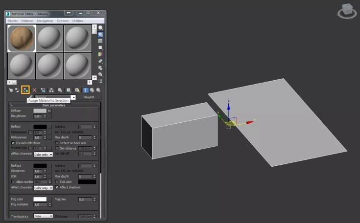 3ds Max How to apply the texture and determine size 05 1024x635 - blog - Texture placement, texture mapping, 3ds max texture placement