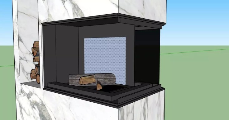 How to make a fire in the fireplace 02 1024x539 - blog - vray tutorial, vray fire, sketchup vray tutorial