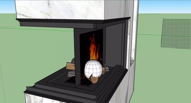 How to make a fire in the fireplace 12 1024x550 - blog - vray tutorial, vray fire, sketchup vray tutorial