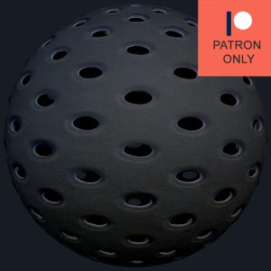 plastic with holes