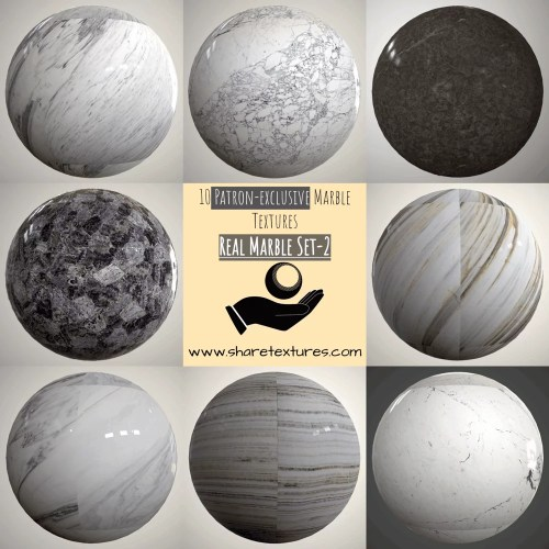 Marble Set-1-Patron-Exclusive by sharetextures