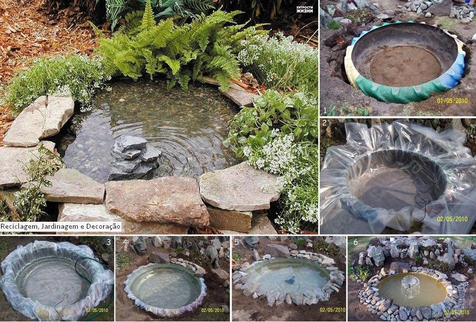 Tire Pond Do It Yourself Share Your Crafts
