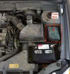 engine compartment fuse box location 1999 2005 hyundai accent  [ 1170 x 878 Pixel ]