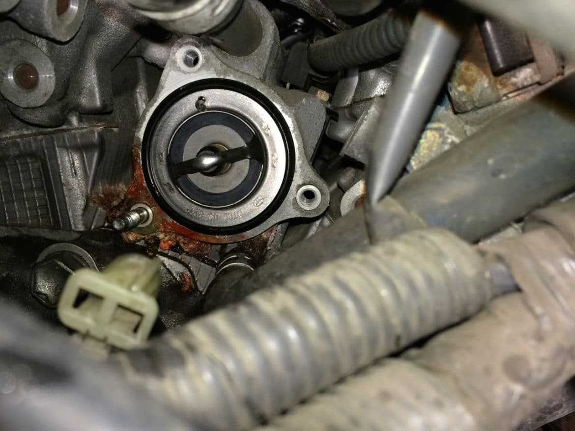 hight resolution of how to replace the thermostat on a 2004 2006 toyota sienna share your repair
