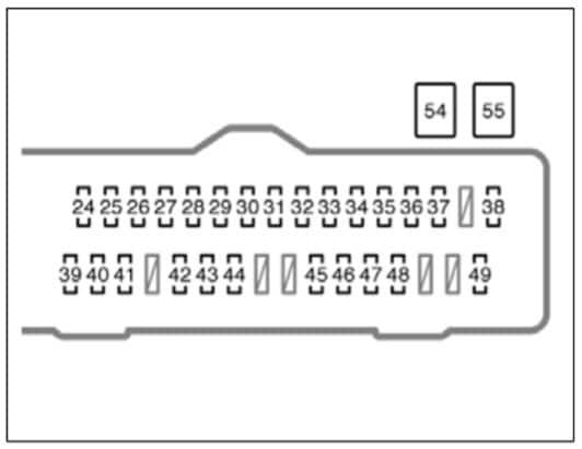 [DIAGRAM] 1999 Toyota Sienna Fuse Diagram FULL Version HD
