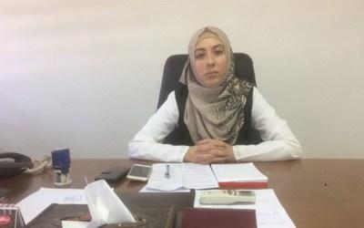 المهندسة يسرا بدوان أصغر رئيسة بلدية في فلسطين