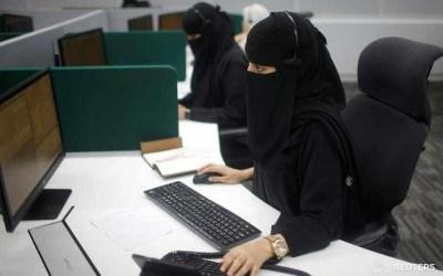 34 % نسبة مشاركة المرأة في سوق العمل السعودي