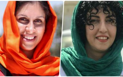 إعتقال إيران التعسفي للناشطتين زاغري ومحمدي مستمر في ظلّ إعلانهما الإضراب عن الطعام