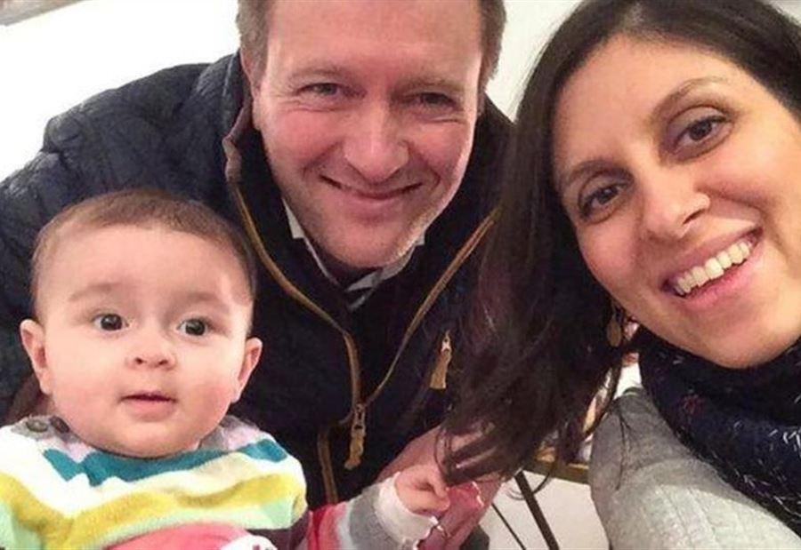 زوج السجينة الإيرانية نازين زاغري يحث الحكومة البريطانية على التحرك لإطلاق سراحها