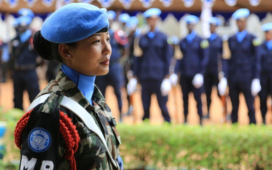 5% هي نسبة مشاركة النساء في عمليات حفظ السلام