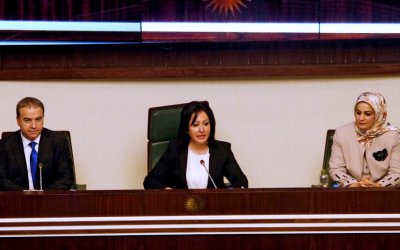 فالا فريد أول إمرأة تترأس البرلمان في كردستان العراق