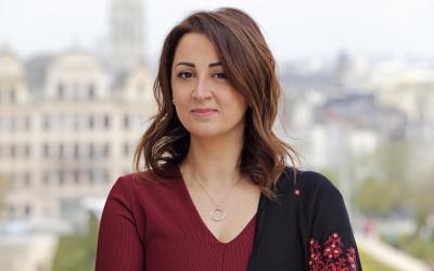 أول امرأة فلسطينية تترشح للبرلمان البلجيكي