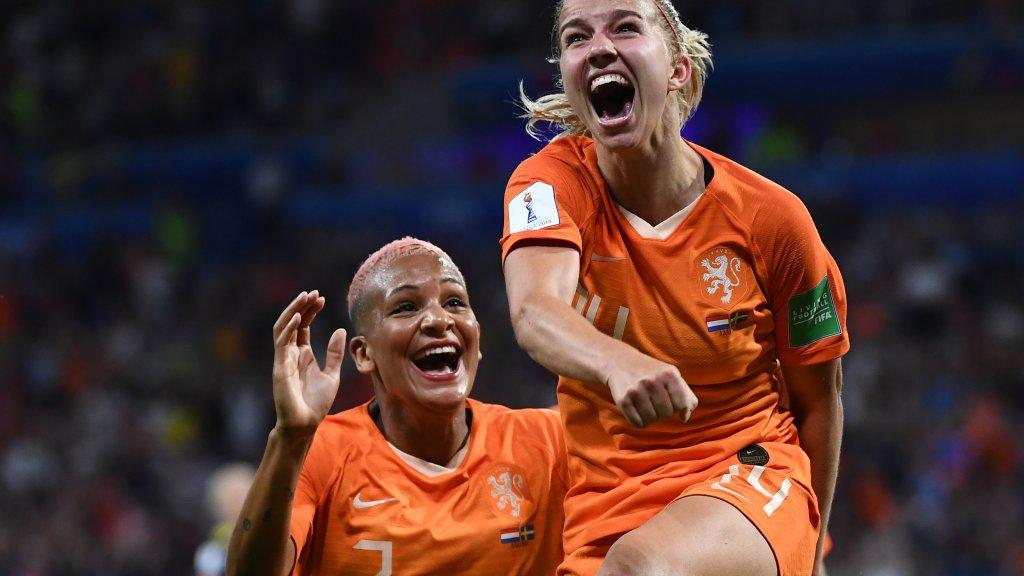هولندا وأميركا يلتقيان في نهائي كأس العالم للسيدات 2019