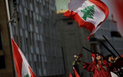 هكذا تميّز فوج حقوق النساء في العرض المدني بعيد الاستقلال في ساحة الشهداء