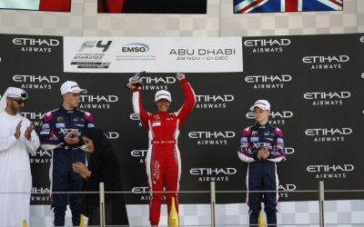 لأوّل مرة سائقة عربية تُتوّج بطلة في سباق الفورمولا 4