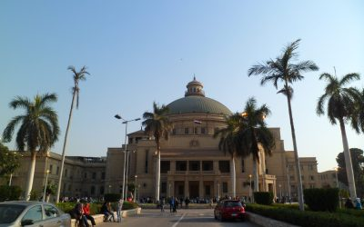 حظر ارتداء النقاب في حرم جامعة القاهرة